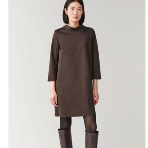 NWOT COS Smooth Dress with Mock Neck Shift Dress